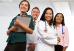 Multi Ethnic Group of Healthcare Professionals